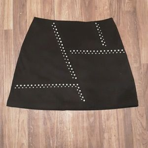 EXPRESS SUEDE MINI SKIRT  SZ 8